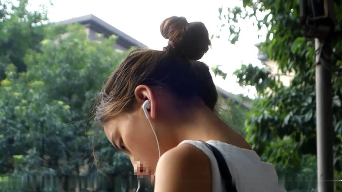 綺麗な横顔の台湾人女性