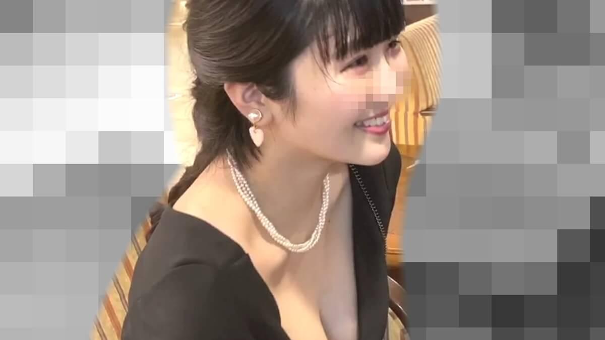 笑顔が素敵なキュート系女性