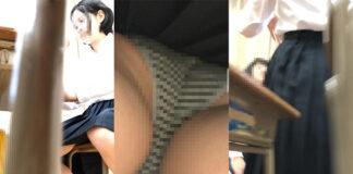 k1 - Pcolleレビュー - JKを教室で逆さ撮りした平井さんの問題作