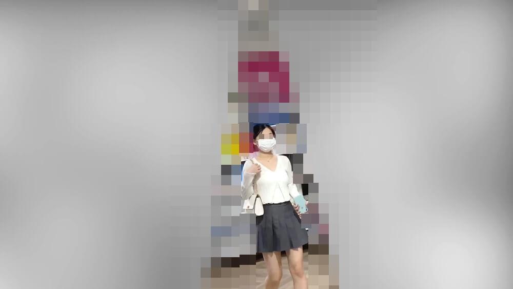 9人目の逆さ撮りターゲットの姿を映した画像