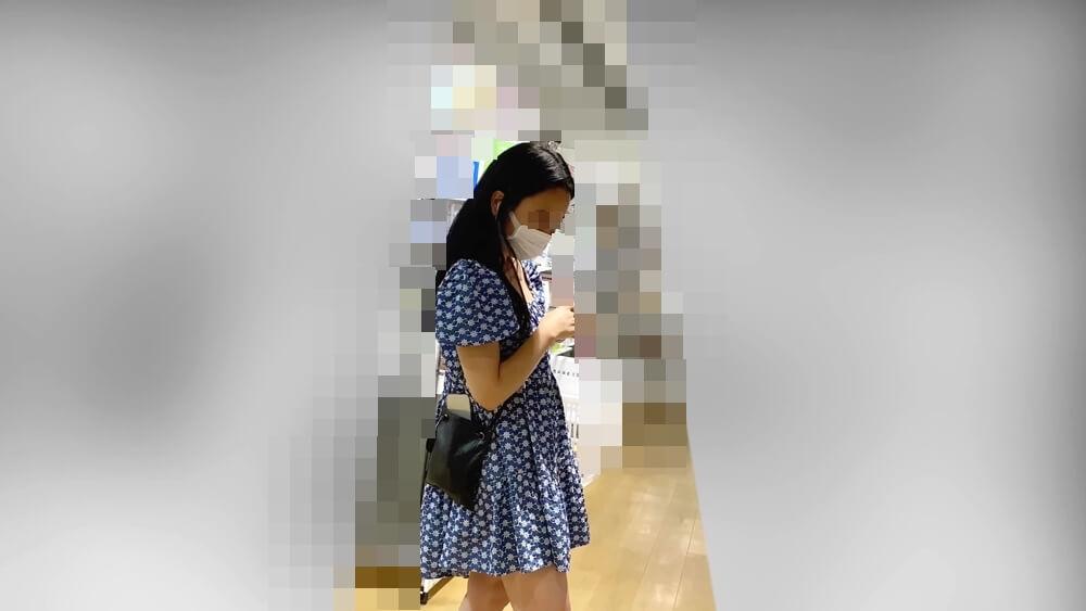 15人目の逆さ撮りターゲットの姿を映した画像