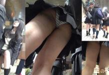 うんこんう - Pcolleレビュー エロスの解明者ペニスさん - 大興奮!超美人な制服JKの縞パンツを逆さ撮りしたヤバ作品