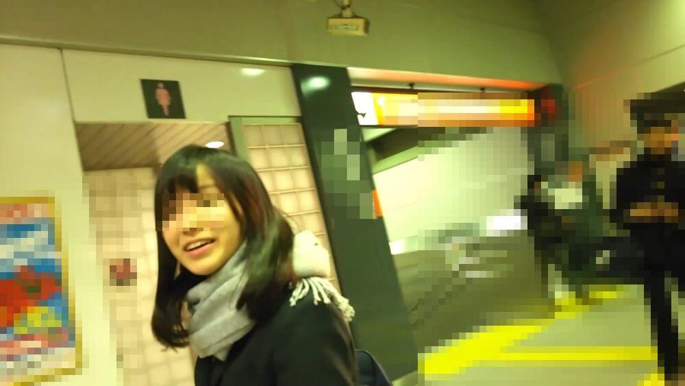 JKの顔を近くで隠し撮りした画像