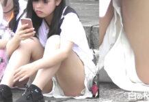 ショーパン女子のチラ見せPart2~動画~ - Pcolle、Gcolleレビュー orignate-pcolle(Gcolleではoriginate-gcolle)さん - ショーパンの隙間から見えた2人の若い娘の眩しい白パンチラをズーム撮り