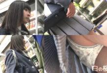 髪がとっても綺麗なお嬢様は制服の下に可愛い生キャラPでした! JK13-4K - Pcolleレビュー ShunSatuさん - ロリフェイスな可愛いJKのロリパンチラ&ハミ尻逆さ撮り